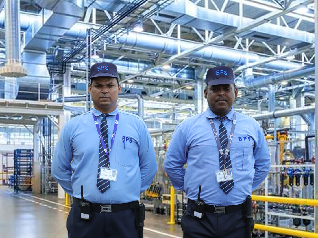 Industrial Security Services with Guards